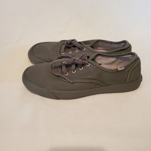 Keds women grey tennis shoes size 9